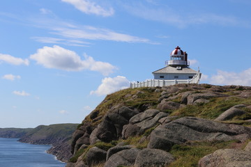 Cape Spear coastline, Newfoundland
