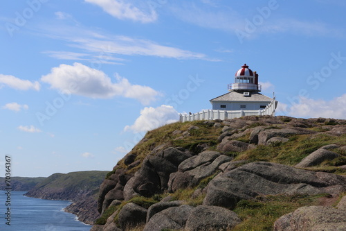 Cape Spear coastline, Newfoundland - 70364367