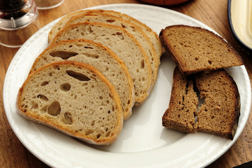 bread, brown, diet, eat, food, nature, grain, health,