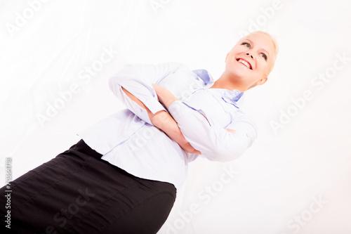 canvas print picture Portrait einer Sekretärin