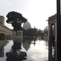 San Pedro en día de lluvia
