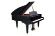 Leinwanddruck Bild - image of a grand piano