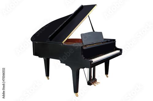 Leinwanddruck Bild image of a grand piano