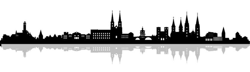 Skyline Bamberg Schatten