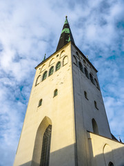 St Olaf (Oleviste) Church. Tallinn, Estonia