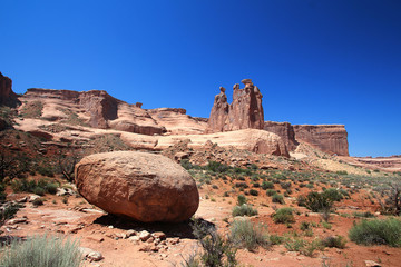 Three Gossips - Arches National Park (Utah)