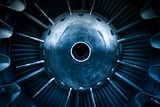 Closeup of a jet engine - 70368731