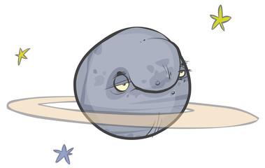 Saturn caroon planet