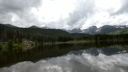 Sprague Lake Colorado Rocky Mountain National Park