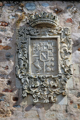 Escudo nobiliario, Cáceres monumental, España