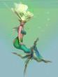 Mermaid in Green