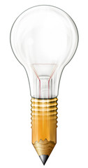 Pencil Light Bulb