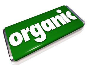 Organic Snack Candy Bar Natural Healthy Food Choice