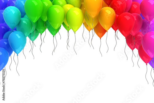 Colorful balloons - 70375320