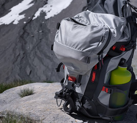 randonnée dans les alpes en altitude