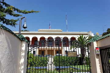 Consulat Général de France, Tanger, Maroc