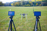 Displays flight control multicopter poster