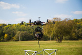 Rise multicopter poster