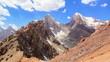 Peak Energy and Chimtarga. Time Lapse. Fans, Tajikistan