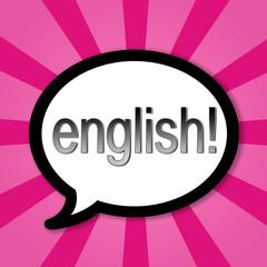 Dialogue baloon - Do you speek english?