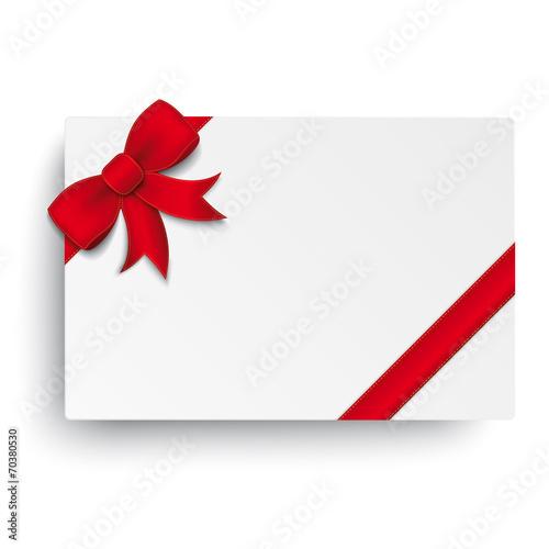 Red Bevel Ribbon White Coupon - 70380530