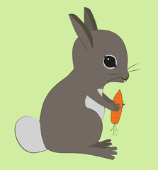 An illustration of a rabbit