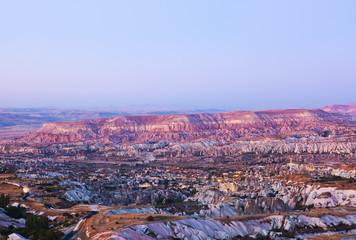 Sunset in Cappadocia Turkey