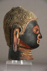Statue of buddha's head