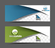 Set Of Modern Business Design Banner Template