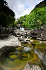 Soi Sawan waterfall.