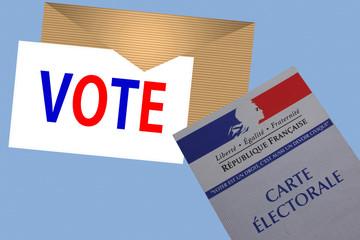 Vote !  République Française