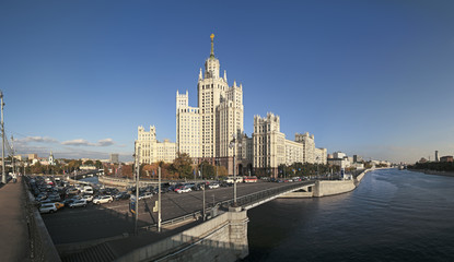 Moscow. Kotelnicheskaya. Stalin skyscraper