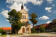 canvas print picture - Kirche in Hasselfelde