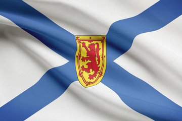 Canadian provinces flags series - Nova Scotia
