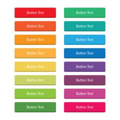 Rainbow Flat Buttons