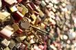 heart padlock - 70386971