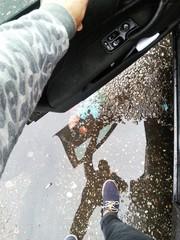 Sombra en el coche