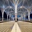Interior of Oriente Station, Lisbon. - 70387114