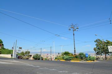 Cagliari roundabout