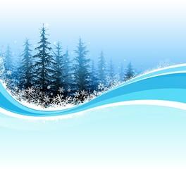 christmas tree scenic