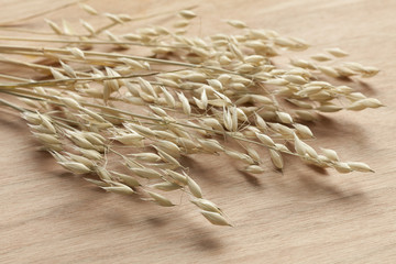 Dried oat
