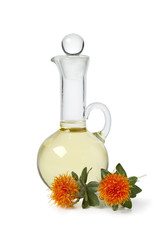 Bottle with Safflower oil