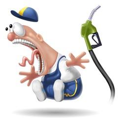 benzinaio shock