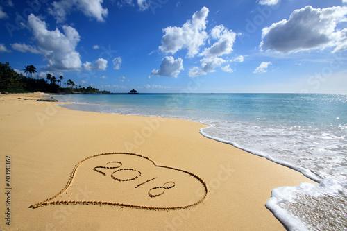 Papiers peints Ile Hearth on the beach 2018