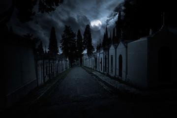 Sppoky cemetery