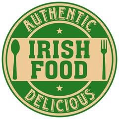 irish food label