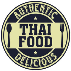 thai food label