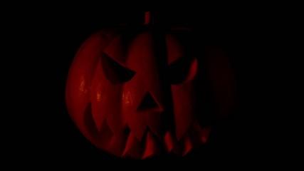 Blinking Halloween Pumpkin