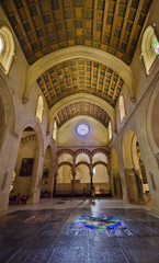CORDOBA, SPAIN - September 14, 2014: Interior of Mezquita-Catedr