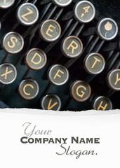 Vintage Typewriter keys  custom